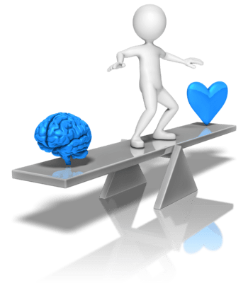 Balancing the needs of the Heart and the Mind
