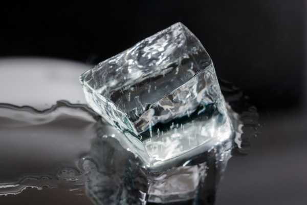 Do you feel sad when and ice cube melts