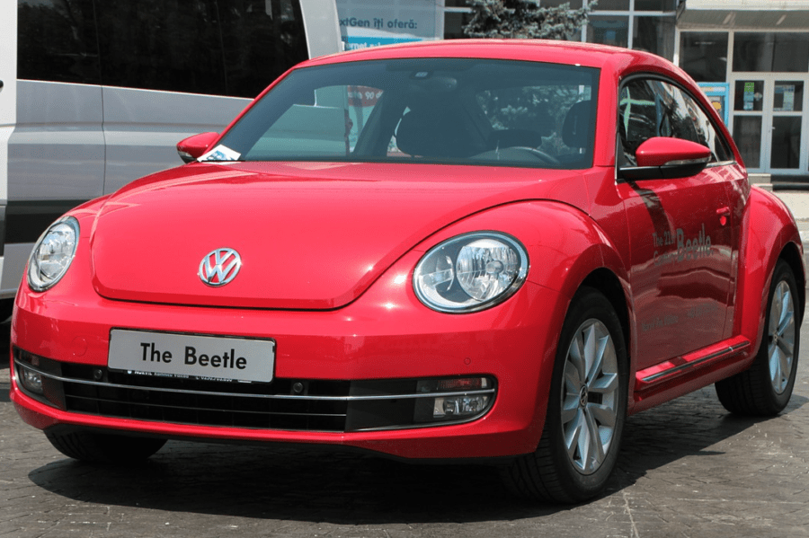 Red VW Beetle BUG